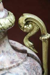 Pair Of Marble Art Deco