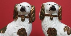 Pair Staffordshire Dogs