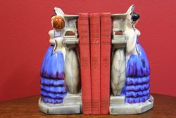 Pair of Art Deco Myott Bookends