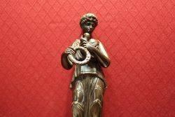 Pair of Classical Bronze Figures