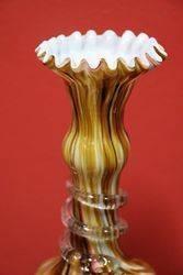 Pair of Edwardian Glass Vases