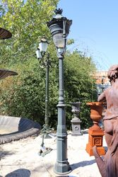 Paris Cast Iron French Style Garden Lamp
