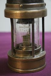 Patterson Type A3 Miners Lamp