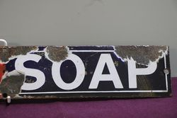 Pears Soap Enamel Advertising Sign