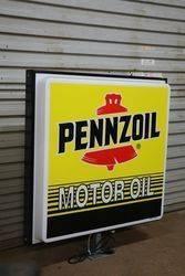 Pennzoil Motor Oil Double Sided Lightbox