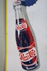 Pepsi Cola Tin Advertising Sign