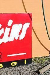 Perkins Diesel Enamel Advertising Sign