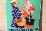 Persil German Enamel Sign