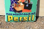 Persil German Enamel Sign