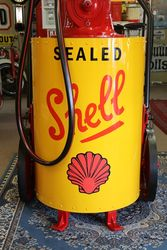 Petrol Pump In Shell Livery
