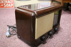 Philco Brown Bakelite Radio