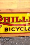 Phillips Cycles Framed Perspex Sign