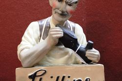 Phillips Soles And Shoes Rubberoid Advertising Statue