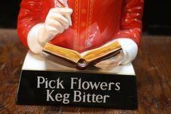 Pick Flowers Keg Bitter Carlton Ware William Shakespeare Figure