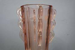 Pink Art Deco Vase