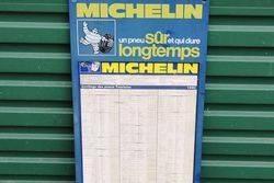 Plastic Michelin Tyre Chart