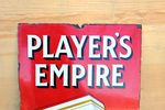 Players Empire Pictorial Enamel Sign