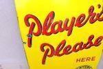 Players Please Cigarette Enamel Sign
