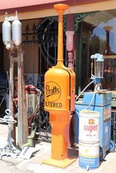 Pratts Restured Manual Petrol Pump
