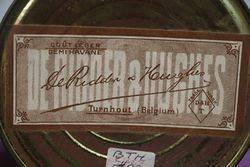 Preferidos Belgium Cigars Pictorial Tin