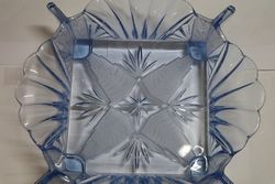 Quality Art Deco Blue Glass Bowl