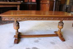 Quality C20th Oak Coffee Table