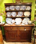 Quality English Oak Kitchen Dresser C1930