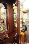 Quality Late Victorian Mahogany Mirror Backed Sideboard C1895