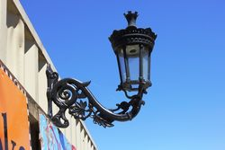 Quality Regency Style Cast Iron Wall Lamp