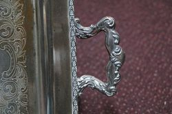 Quality Silver Plate on Copper Tray