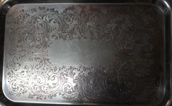 Quality Silver Plated Tray
