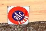 RAC Inn Enamel Sign