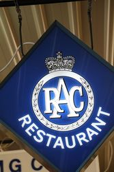 RAC Restaurant Light Box
