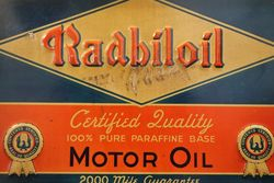 Radbiloil Advertising Tin Sign