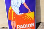 Radion Pictorial Enamel Sign