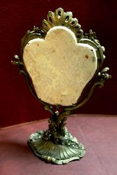 Rare 19th Century Gilt Bronze Swing Mirror