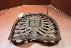 Rare Cast Iron Deering Tractor Seat