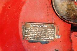 Rare Gex Wallmount Petrol Pump For Restoration