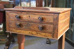Rare Rosewood Regency Writing Table