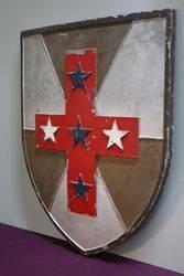 Rare Shield Shaped National Bank Of Australia Official Logo