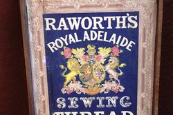 Raworths Royal Adelaide Sewing Thread Advertising Box