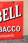 Red Bell Tobacco Enamel Sign