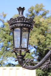 Regency Top of the Range 5 Branch Cast Iron Garden Lamp