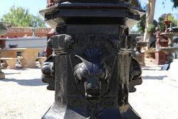Regency Top of the Range 5 Branch Cast Iron Garden Lamp