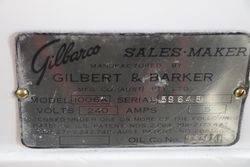 Restored Gilbarco Sales Maker Petrol Pump