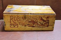 Robin Starch Original Display Wooden Box