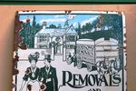Robsons Removals Pictorial Enamel Sign