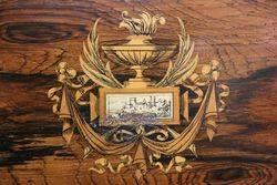 Rose Wood Display Cabinet