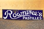 Rowntrees Pastilles Enamel Advertising Sign
