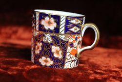 Royal Crown Derby C 192530 Coffee Can and Saucer